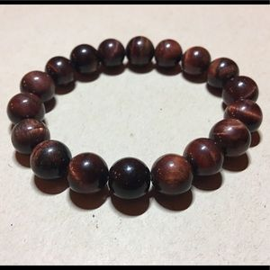 "Jewelry - 7"" 10mm Tiger Eye Stretch Bracelet"